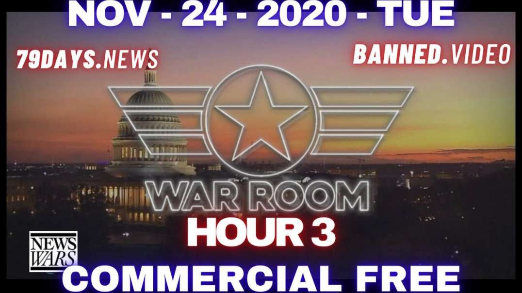 #WarRoomShow HR3: Former Overstock CEO Explains Electronic Hacking, Sending Intel To Lawyers