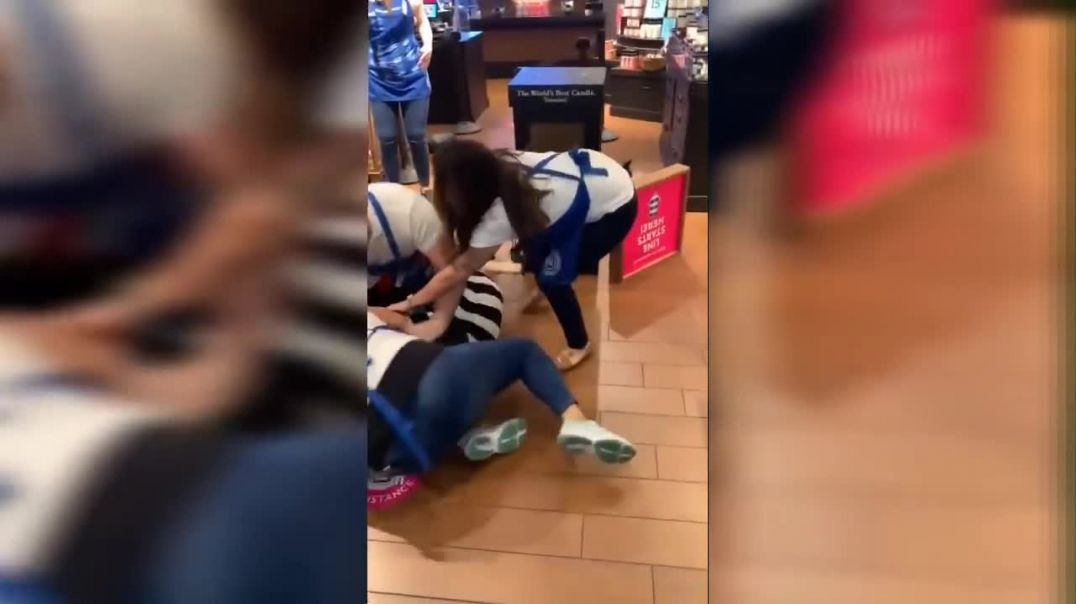 Bath & Body Works Fight, A Brawl Broke Out Over A Mask At BBW Fashion Square Mall