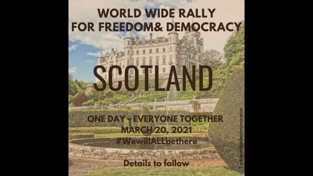 WORLD WIDE RALLY:  ONE DAY - EVERYONE TOGETHER   March 20 2021