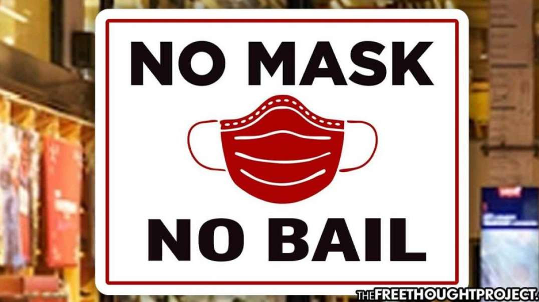 A Man Held Without Bail For No Mask While A Rapist Is Released!