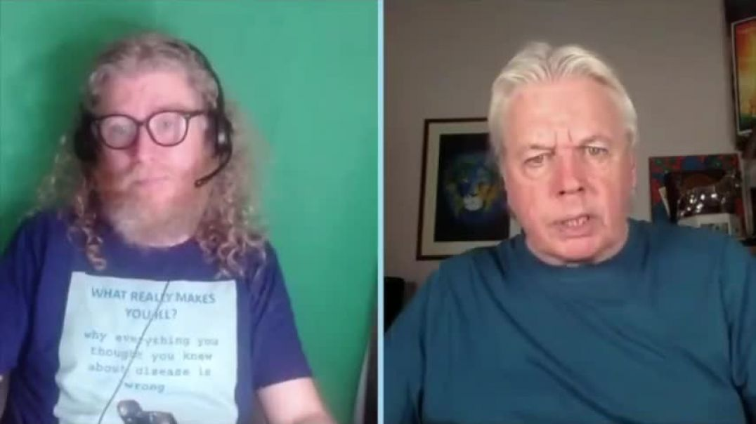 David Icke - This Is A Dangerous Time For The Cult - They Had To Enter The Room