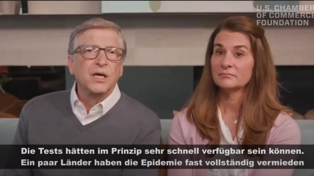 Psycopaths love to laugh at others misfortune, second wave laughter from Bill and Melinda Gates.