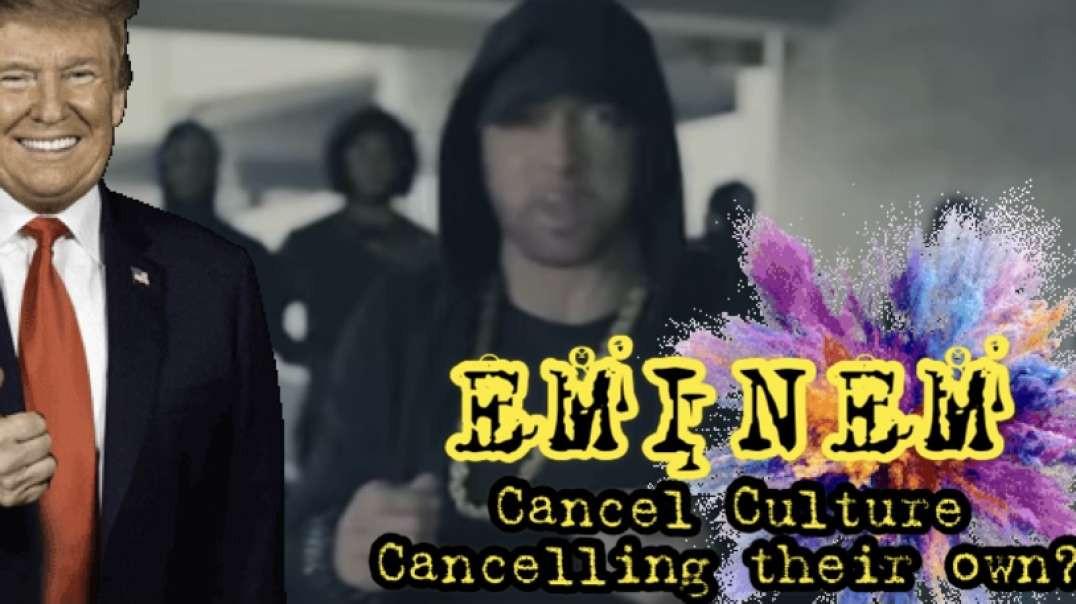 LIBERALS CANCELING EMINEM ...THEIR Public defender | SLIM SHADY canceled by Teens