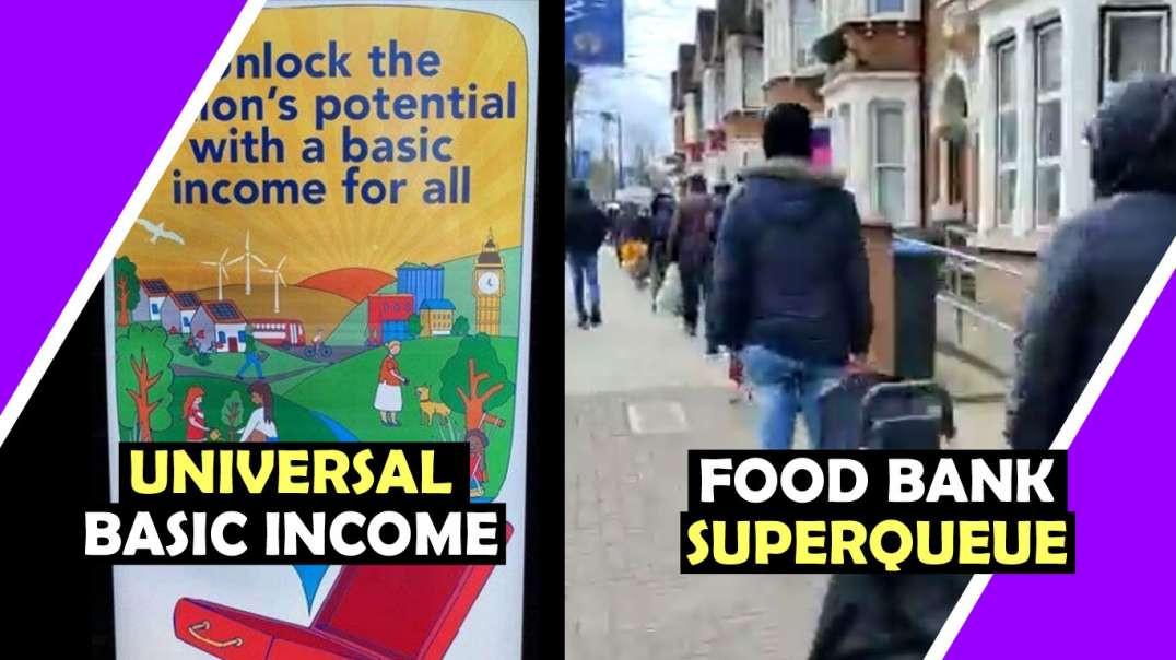 Universal Basic Income and Food Bank SUPERQUEUE Hugo Talks #lockdown