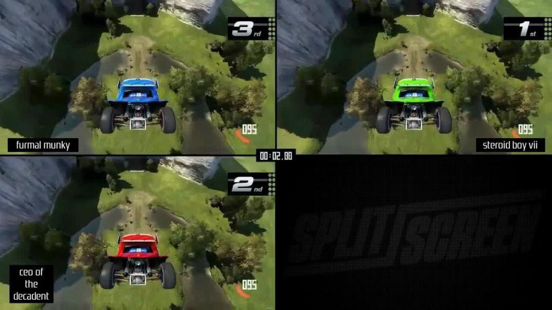 TrackMania Turbo (Playstation 4) WCPSG tournament #20 teaser 2 (custom track 2)