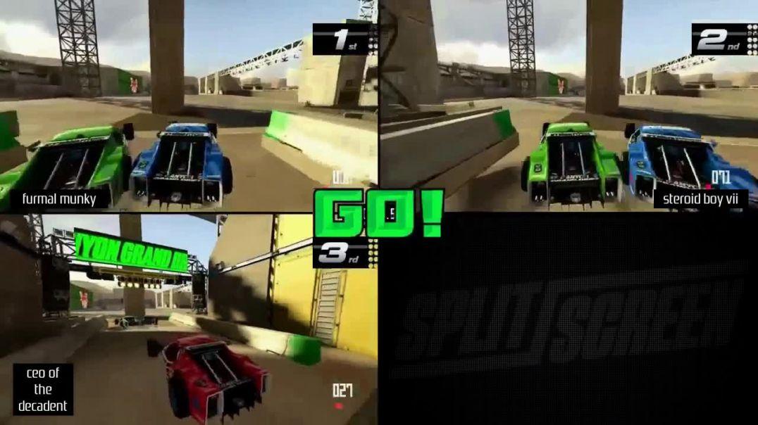 TrackMania Turbo (Playstation 4) WCPSG tournament #20 teaser 1 (custom track 1)