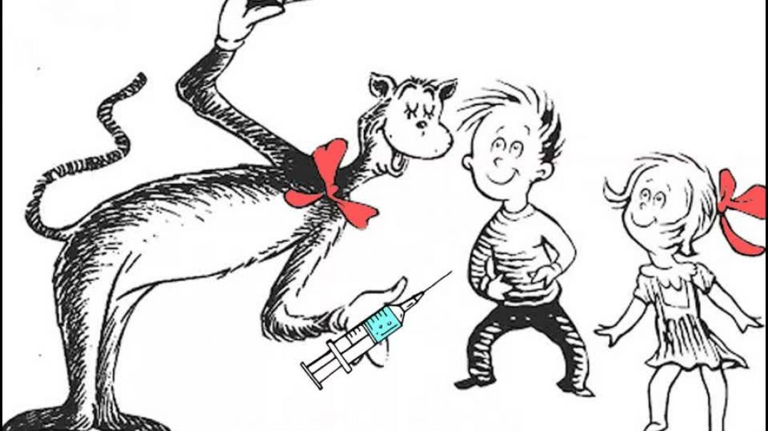 Dr. Seuss - Cat In The Hat - Gives Kids Puberty Blockers While Their Mother Isn't Home! NWO Version!