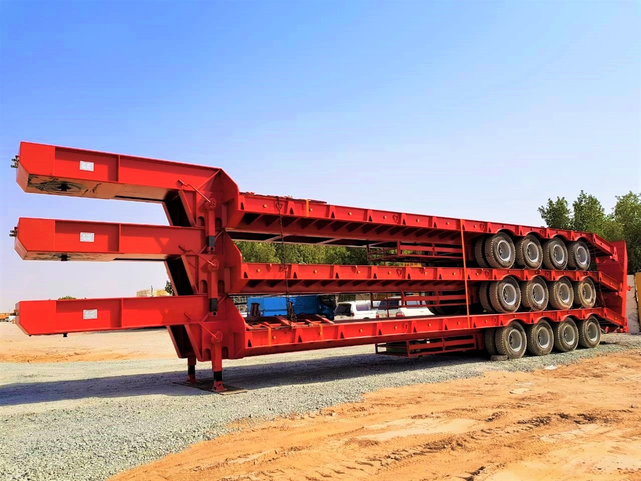 Truck Lowbed Trailers