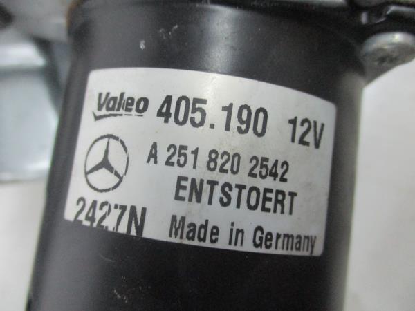 Armação com motor limpa-vidros frente (20186424).