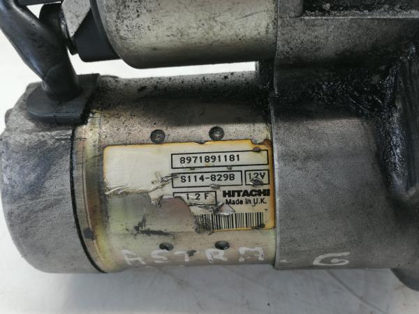 Motor de Arranque (20195010).