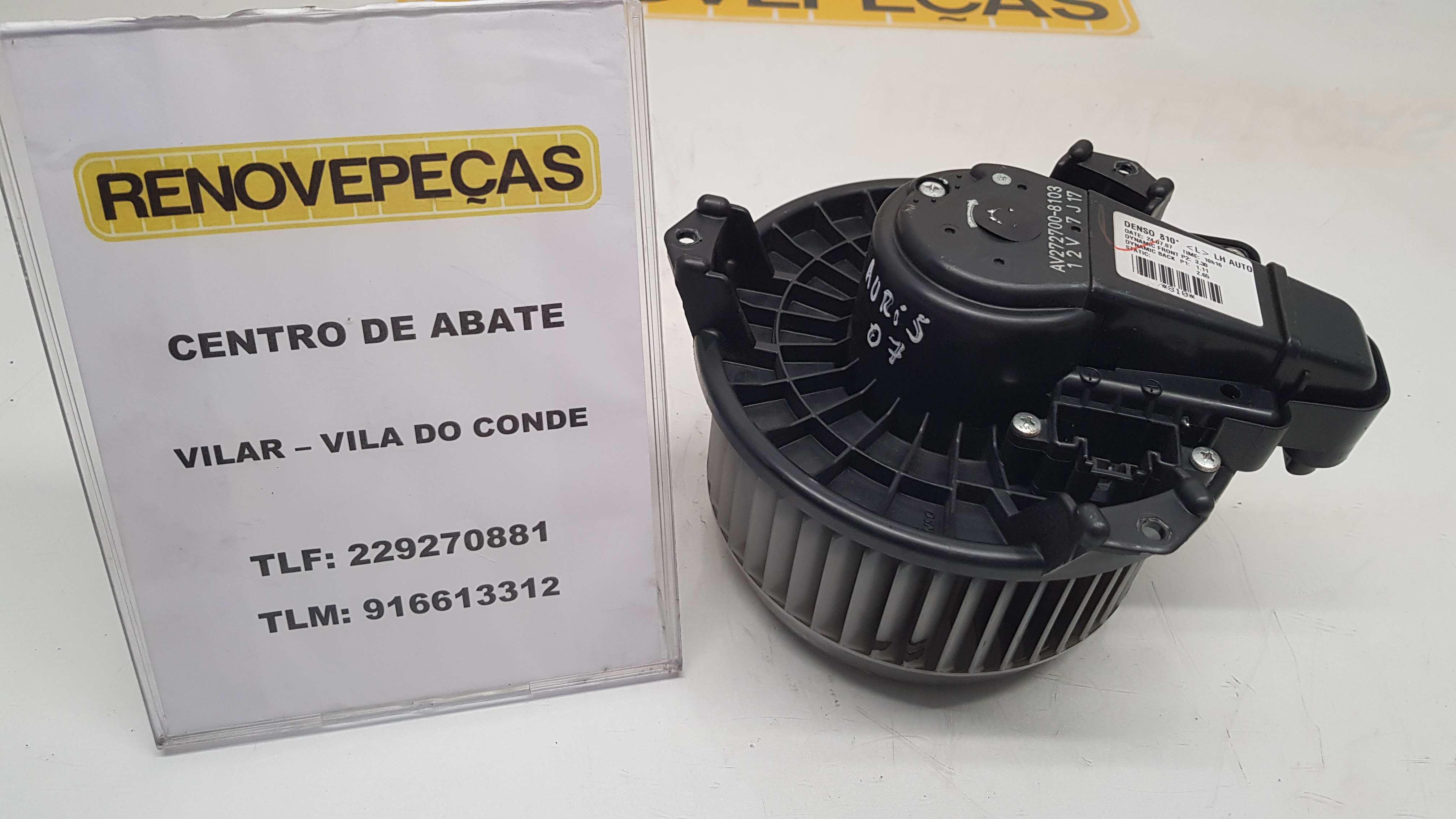 Motor da Chaufagem (20171555).