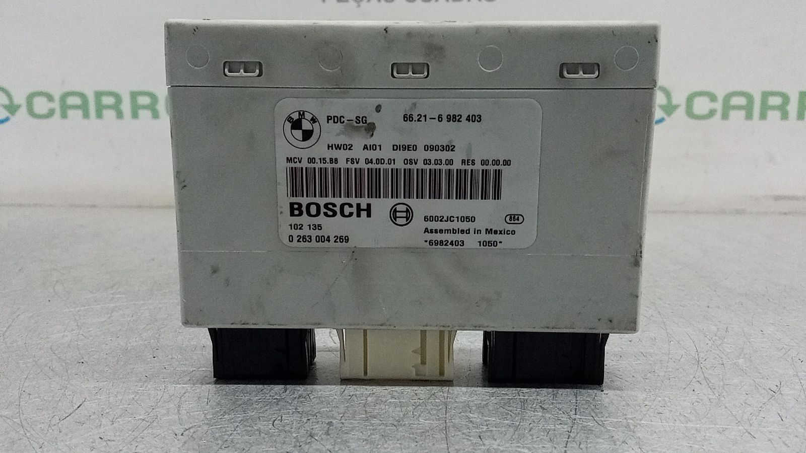Módulo Sensores Estacionamento (20393302).