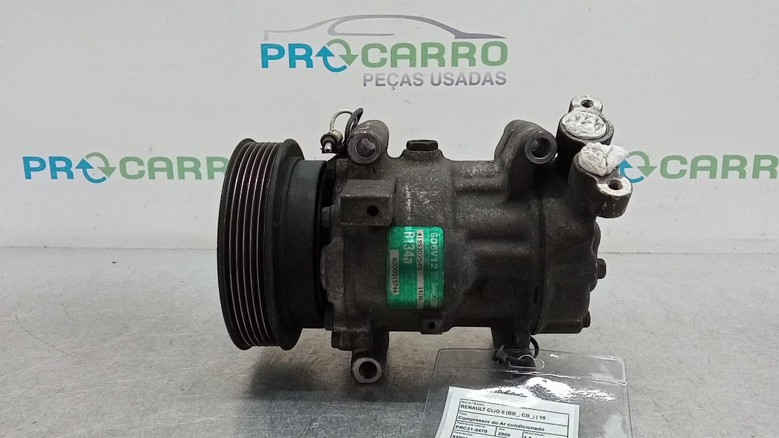 Compressor do Ar condicionado (20402074).