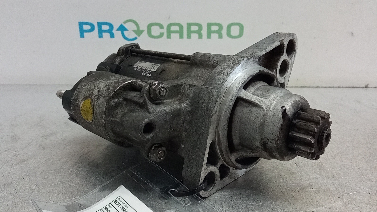 Motor de Arranque (20402229).