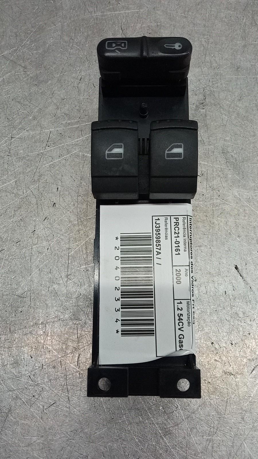 Interruptores dos Vidros Frt Esq (20402334).