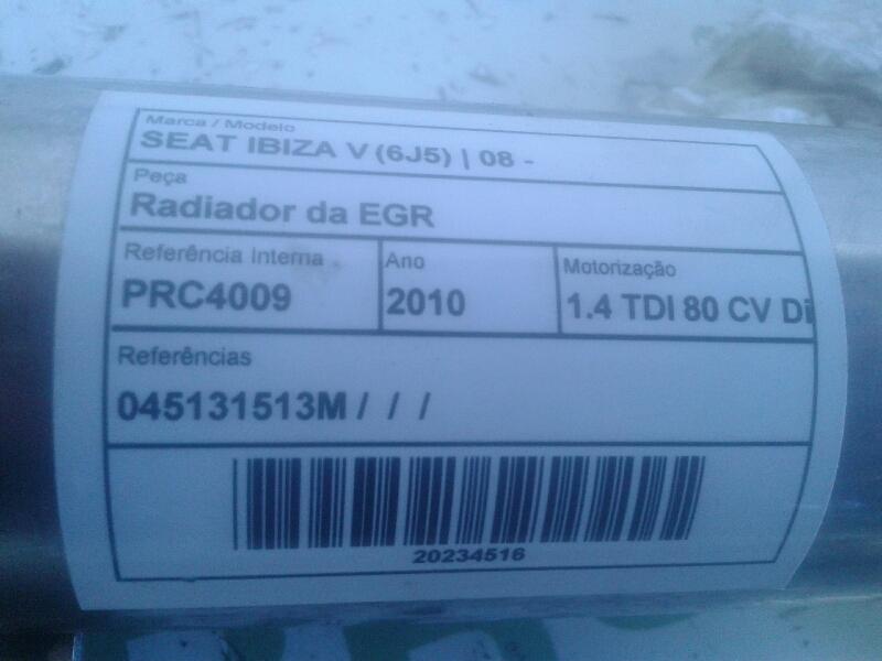 Radiador da EGR 1