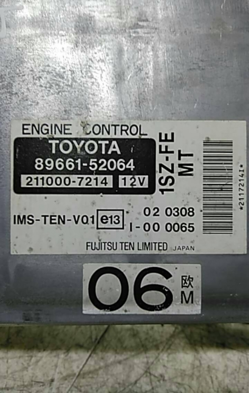Centralina motor (20209831).