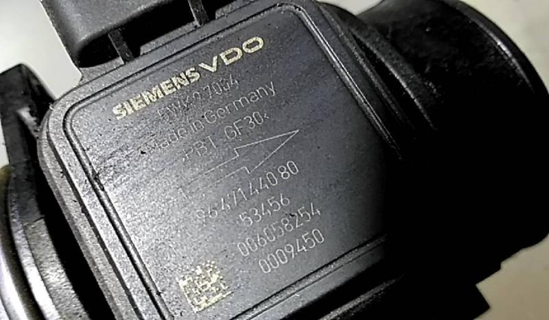 Medidor de massa de ar (20221584).