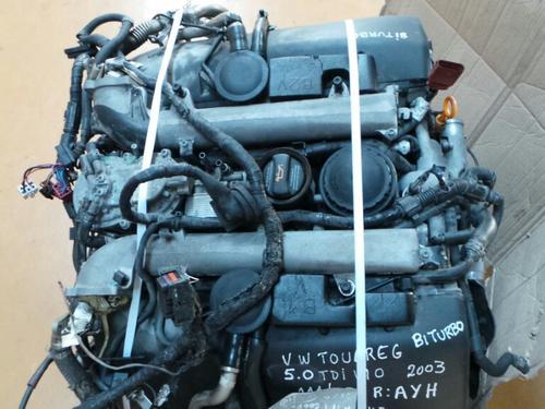 Motor VOLKSWAGEN TOUAREG (7LA, 7L6, 7L7) | 02 - 13