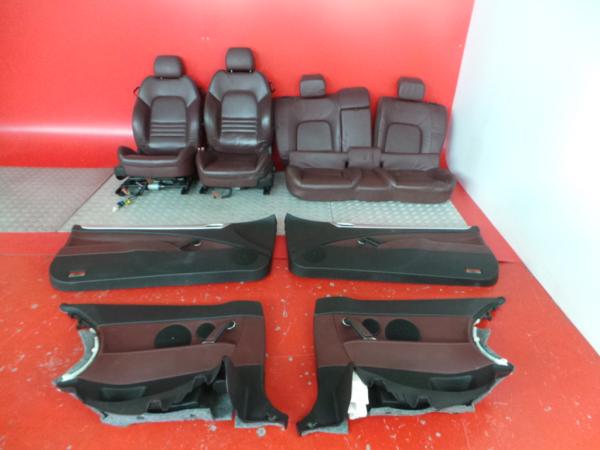 Conjunto de bancos / Sem Airbags PEUGEOT 407 Coupé (6C_) | 05 -