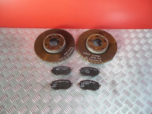 Discos Travão com Calços RENAULT MEGANE IV Hatchback (B9A/M/N_) | 15 -