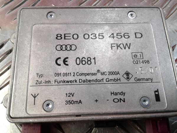 Modulo Central do Bluetooth AUDI A4 (8EC, B7)   04 - 08