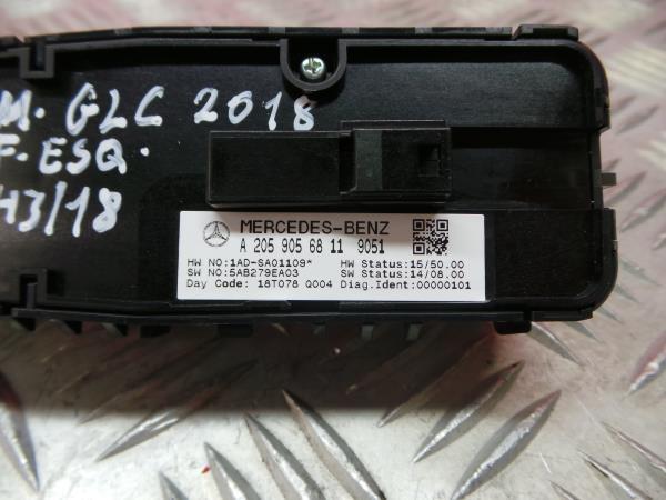 Comutador Vidro Frt Esq MERCEDES-BENZ GLC (X253) | 15 -