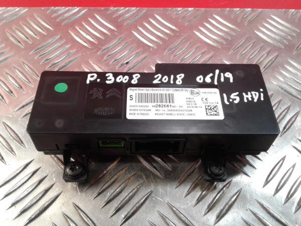 Display do Radio PEUGEOT 3008 SUV (M_) | 16 -