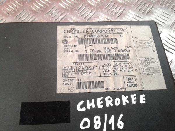 CD Changer JEEP GRAND CHEROKEE II (WJ, WG) | 98 - 05