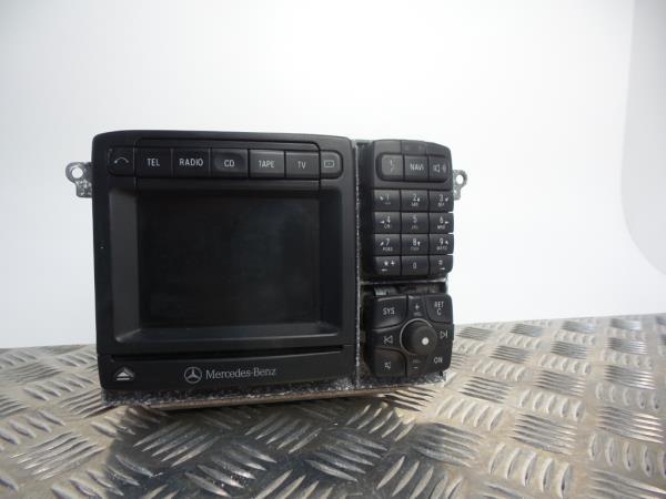 Auto-rádio (GPS) MERCEDES-BENZ S-CLASS (W220) | 98 - 05