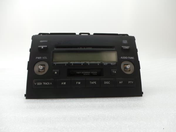 Auto-rádio (CD) TOYOTA LAND CRUISER PRADO (_J12_) | 02 - 10