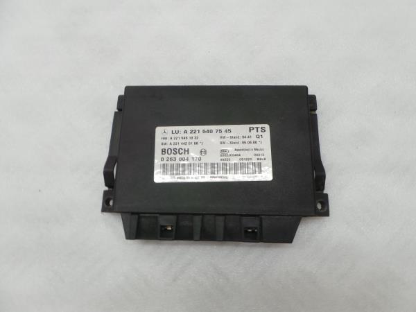Modulo dos Sensores de Parque MERCEDES-BENZ S-CLASS (W221) | 05 - 13
