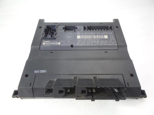 Modulo Confort MERCEDES-BENZ S-CLASS (W221) | 05 - 13