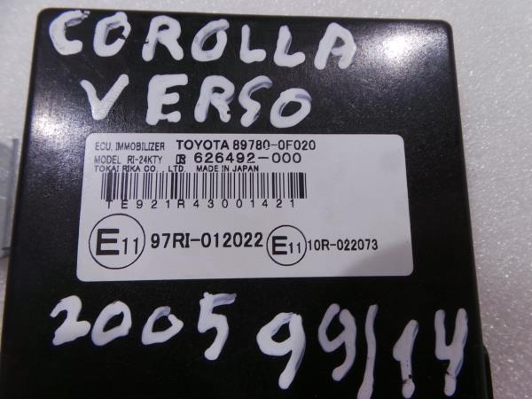 Modulo / Rele TOYOTA COROLLA Verso (ZER_, ZZE12_, R1_) | 04 - 09