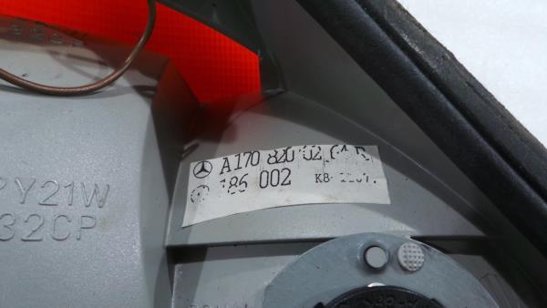 Farolim Tras Direito                          MERCEDES-BENZ SLK (R170) | 96 - 04