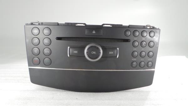 Auto-rádio (CD) MERCEDES-BENZ C-CLASS (W204) | 07 - 15