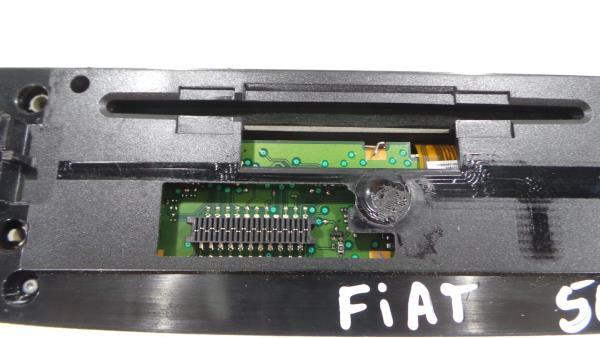 Painel do Radio FIAT 500 (312_) | 07 -