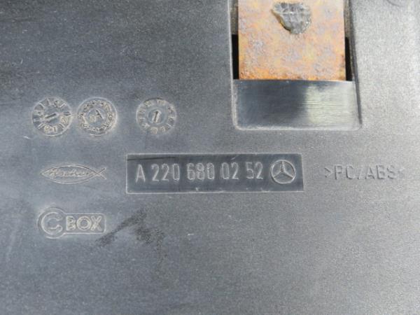 Cinzeiro MERCEDES-BENZ S-CLASS (W220) | 98 - 05