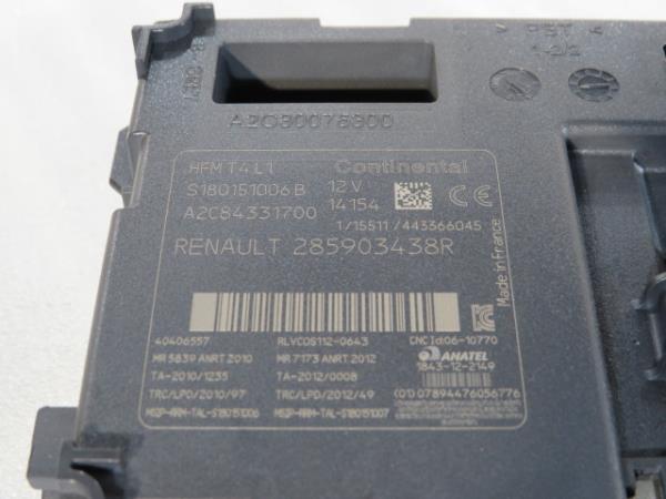 Canhão Ignição RENAULT CLIO IV (BH_) | 12 -