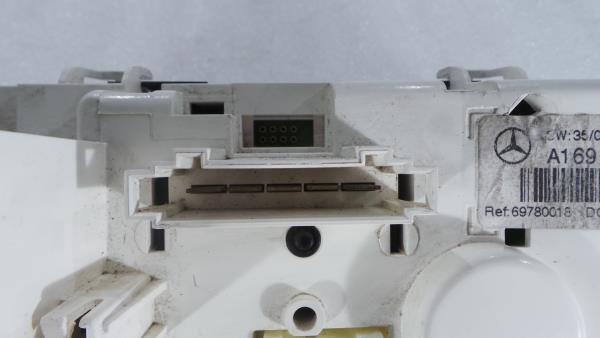 Comando Sofagem / Climatronic MERCEDES-BENZ A-CLASS (W169) | 04 - 12