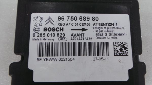 Centralina do Airbag PEUGEOT 207 Van (WA_, WC_)   06 -