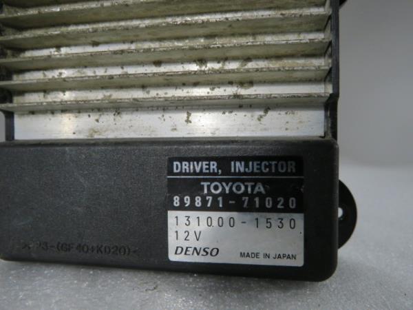 Centralina Bomba Injectora TOYOTA DYNA Camião de plataforma/chassis (KD_, LY_, _Y2_, _U3_, _U4_)   01 -