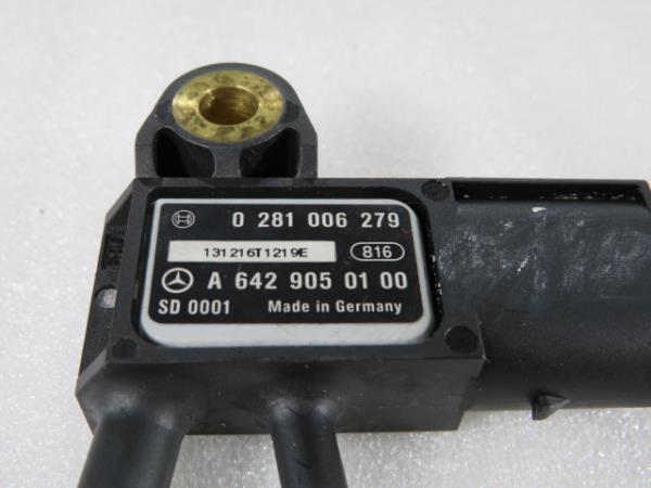 Sensor de Pressao de Gases MERCEDES-BENZ SPRINTER 3,5-t Camião de plataforma/chassis (906)   06 -