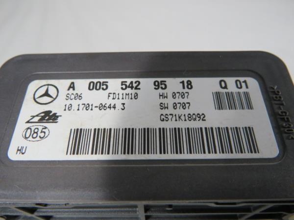 Modulo de Estabilidade MERCEDES-BENZ S-CLASS (W221) | 05 - 13