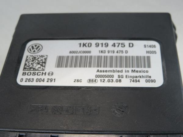 Modulo dos Sensores de Parque VOLKSWAGEN SCIROCCO (137, 138)   08 - 17
