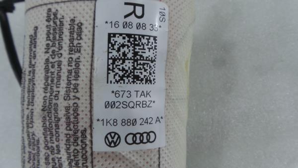 Airbag Banco Frente Direito VOLKSWAGEN SCIROCCO (137, 138) | 08 - 17
