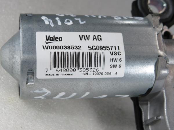 Motor Limpa Vidros Tras VOLKSWAGEN GOLF VII (5G1, BQ1, BE1, BE2)   12 -