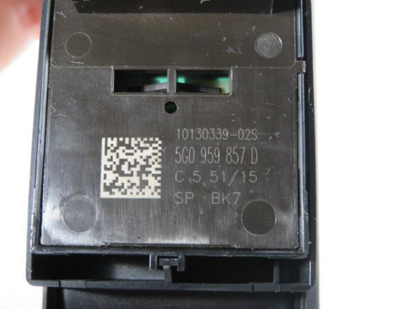 Comutador Vidro Frt Esq VOLKSWAGEN GOLF VII (5G1, BQ1, BE1, BE2) | 12 -