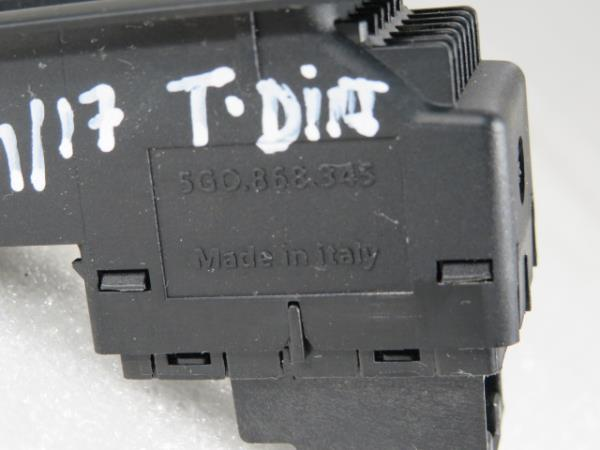 Comutador Vidro Tras Dir VOLKSWAGEN GOLF VII (5G1, BQ1, BE1, BE2)   12 -