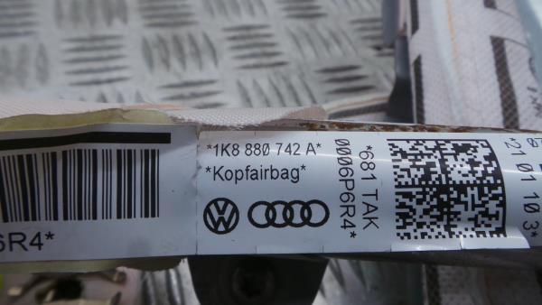 Airbag Cortina Direito VOLKSWAGEN SCIROCCO (137, 138) | 08 - 17